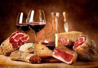 вино и сухи мезета